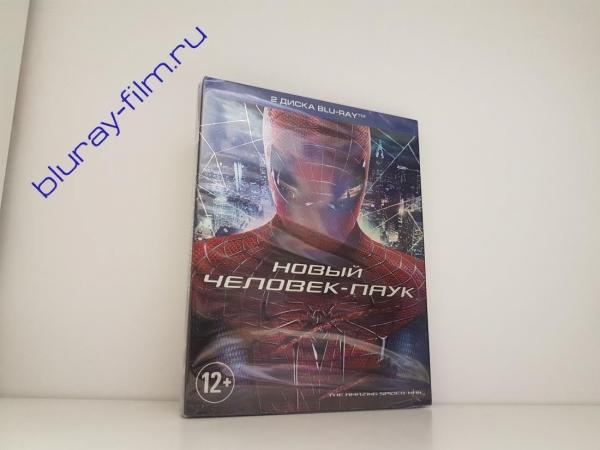 Новый Человек-паук (2 Blu-ray)