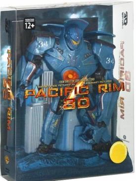 Тихоокеанский рубеж: Коллекционное издание 3D и 2D (3 Blu-ray)