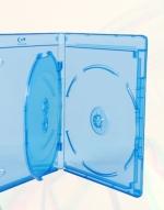 Футляр для 3 Blu-ray дисков с логотипом