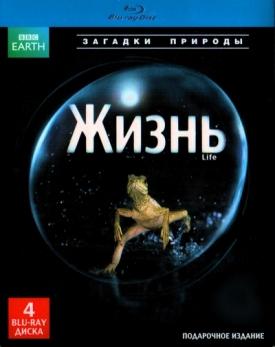 BBC: Жизнь. Часть 1-4. Подарочное издание (4 Blu-ray)