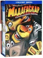 Мадагаскар: Трилогия (3 Blu-ray)