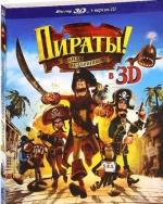 Пираты! Банда неудачников 3D и 2D (Blu-ray)